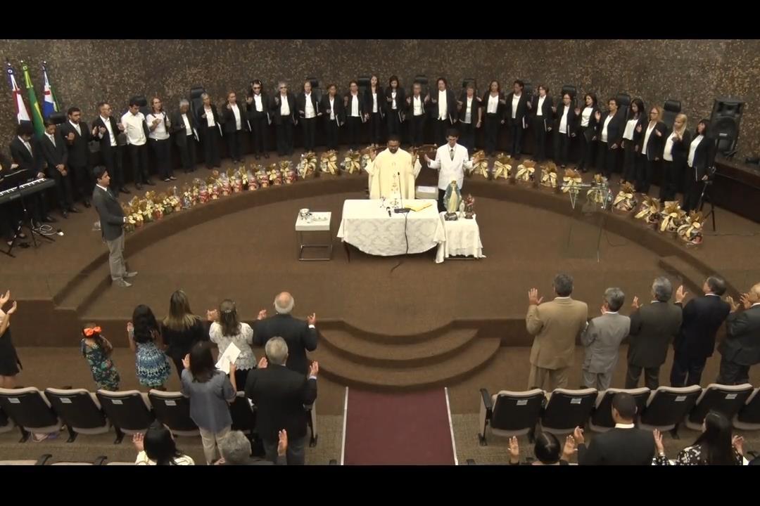 Magistrados e servidores participam de Missa Natalina no pleno do TJ